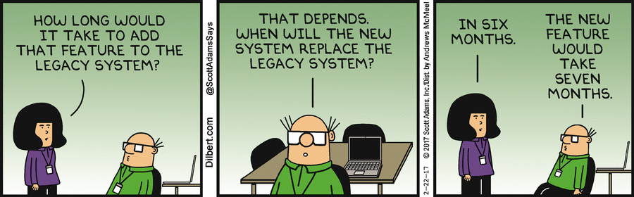 Strip over Legacy Software